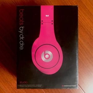 NWT Beats By Dr. Dre High Def Studio Headphones